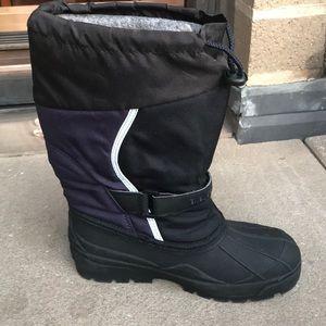 LL Bean kids winter Waterproof boots Sz 5